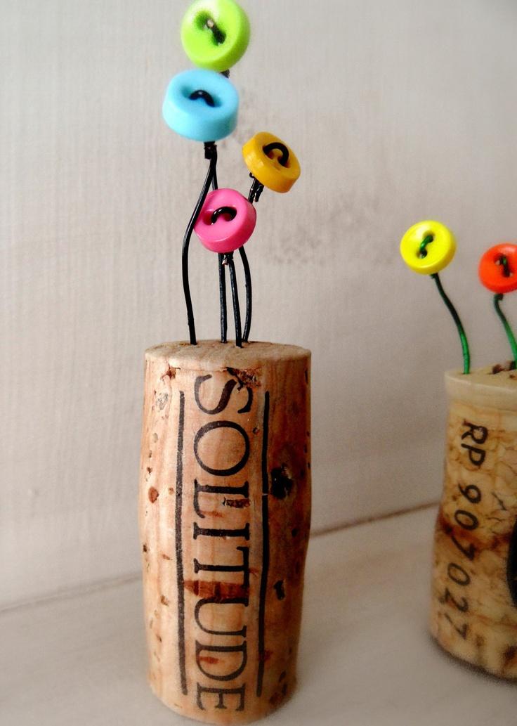 Miniature Cork Flower Garden