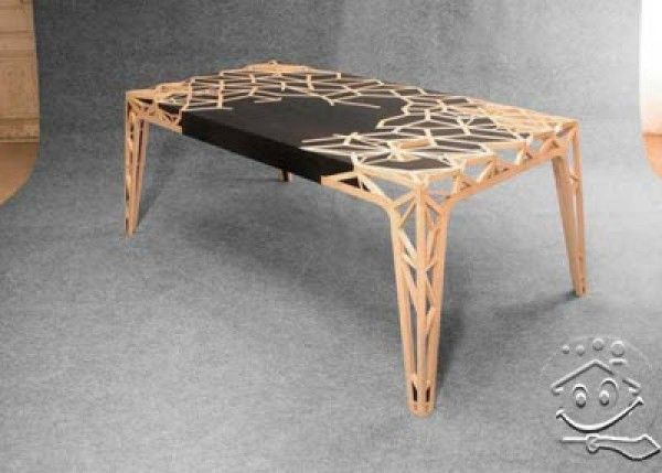 Best 25 wood table design ideas on pinterest wood table design table and coffe table design Contemporary coffee tables design