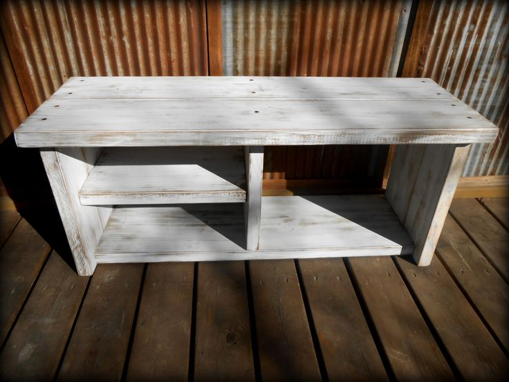 shoe bench | 42 White Shoe Rack Bench with Boot Cubby by TheHenryHouse on Etsy