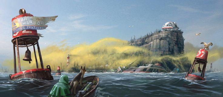 Fallout 4 | Far Harbor Concept