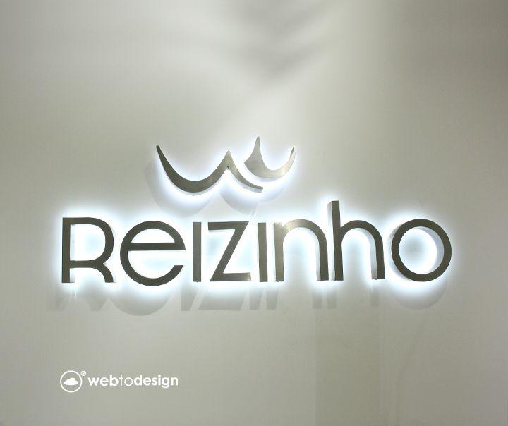 Letras Monobloco Reizinho Reizinho 3d Logo Design