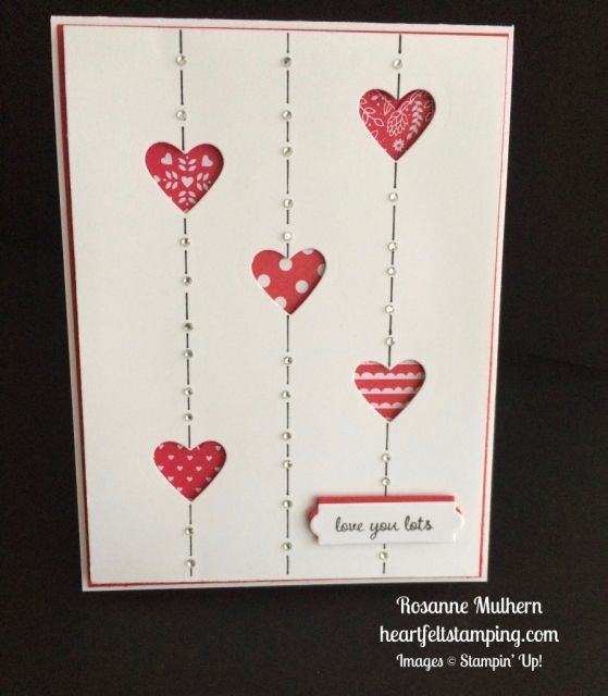 stampin up sealed with love valentine cards ideas rosanne mulhern stampinup - Valentine Cards Ideas