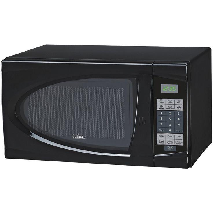 Culinair .7 Cubic-ft Black Microwave