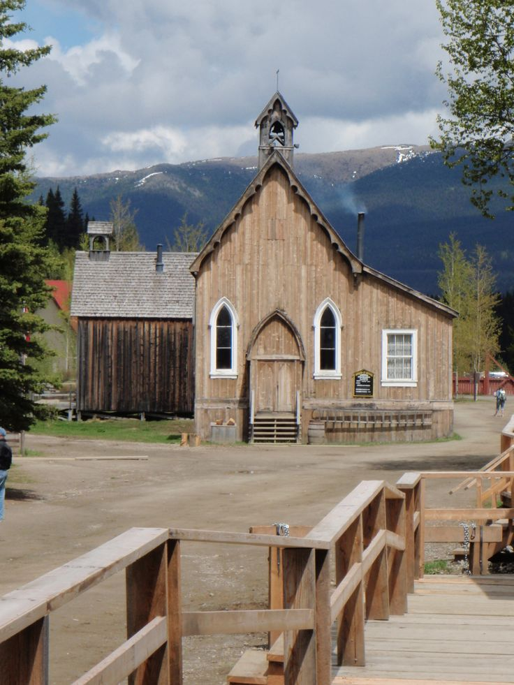 Barkerville, BC,     Gold rush town in the NE part of British Columbia
