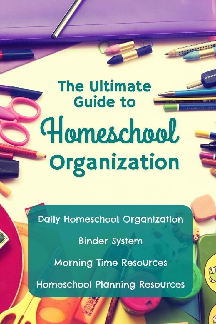 The Ultimate Guide to Homeschool Organization. Save this pin. Great information. Homeschool Curriculum, Homeschool Schedule, Homeschool Organization, Homeschool Room, Homeschool Kindergarten, Homeschool Preschoolers, Homeschool Planning, Homeschool How to Start, Homeschool Printables
