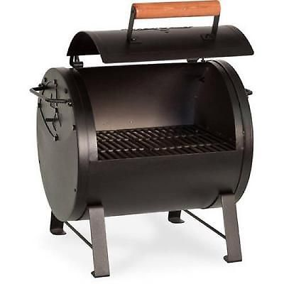 Table Top Charcoal Grill Smoker Barbecue Portable Outdoor Camping 250 Sq Inch