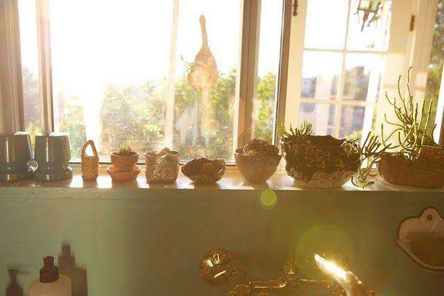 window sillLights, Kitchens Windows, Windows Sill, Dreams, Herbs, Green, Plants, Bea Kitchens, Windows Gardens
