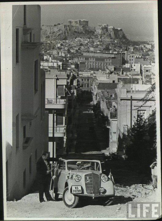 Πινδάρου Κολωνάκι, Αθήνα 1950΄s Ανάρτηση από Tobias Knut https://www.facebook.com/photo.php?fbid=117466008293164=o.40347363414=1