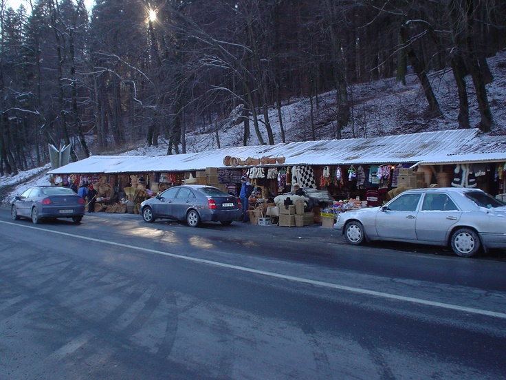 On the road from Brasov to Bucuresti