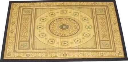 Bamboo Rug Floor Mat Oasis