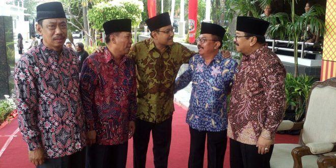 LDII Hadiri Silaturahim Syawal Gubernur Jawa Timur