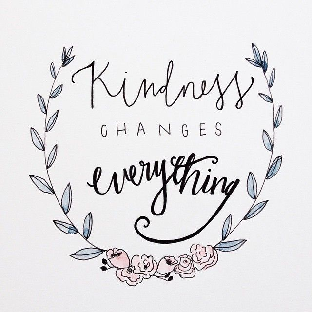 Lovely Things ~ Kindness