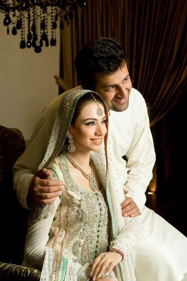 Pakistani Celebrity Armeena Rana Khan Wedding Pictures ...