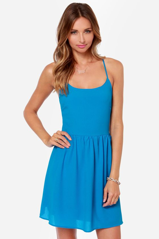 Best 25  Bright blue dresses ideas on Pinterest