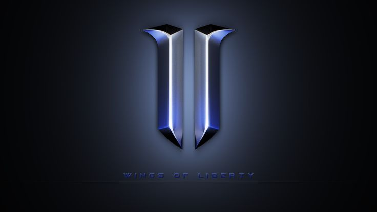Starcraft 2 Logo Background HD Wallpaper