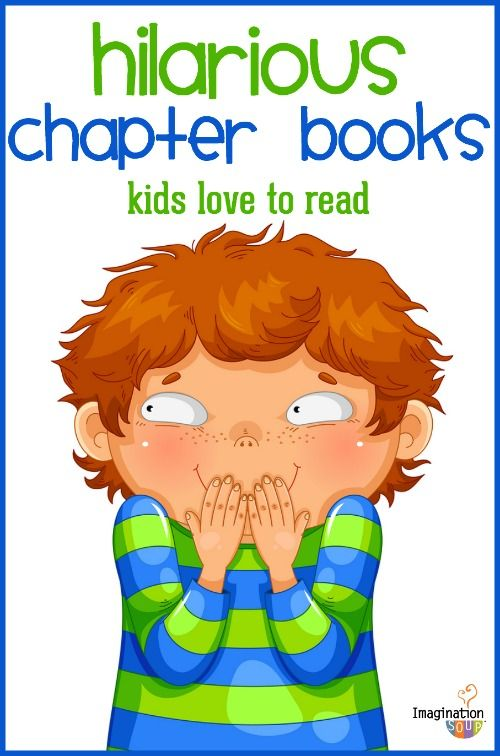 funny chapter books for kids