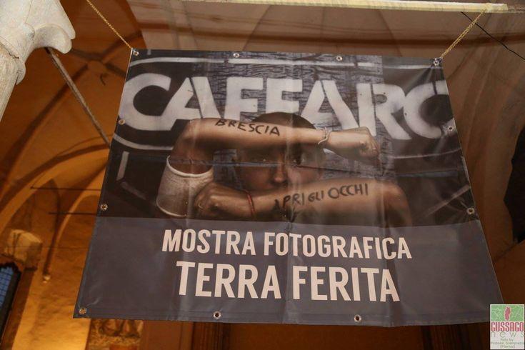 """Fotogallery inaugurazione mostra fotografica """"Terra ferita"""" - http://www.gussagonews.it/fotogallery-inaugurazione-mostra-fotografica-terra-ferita-gennaio-2017/"""