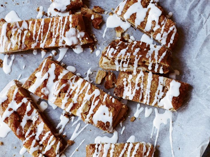 Glazed Maple-Walnut Kringle | This recipe for a maple-walnut kringle resembles a giant toaster strudel. The glazed pastry is a riff on a Midwestern classic.