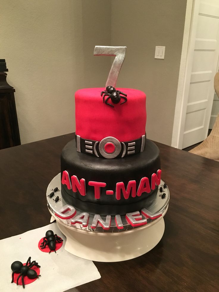 Ant Man Cake Design : 183 best images about My Cakes on Pinterest Princess ...
