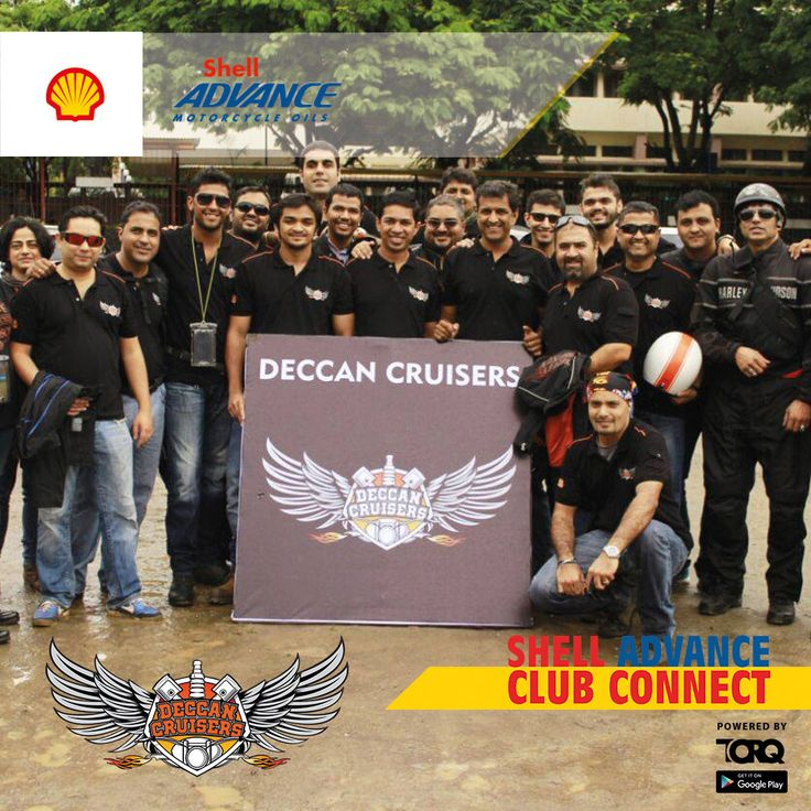 Shell Advance club connect powered by TORQ is experiencing biking passion and a warm welcome from Deccan Cruisers #TheWinningIngredient #TORQ #TorqRiderApp #bikerlife #motorcyclediaries
