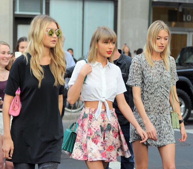 Taylor Swift out with Gigi Hadid and Martha Hunt