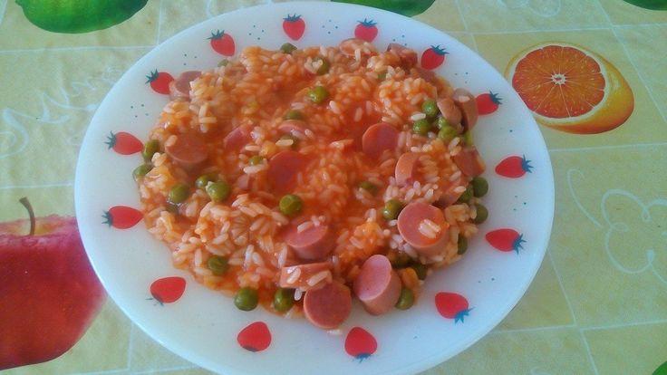 Arroz de Salsichas