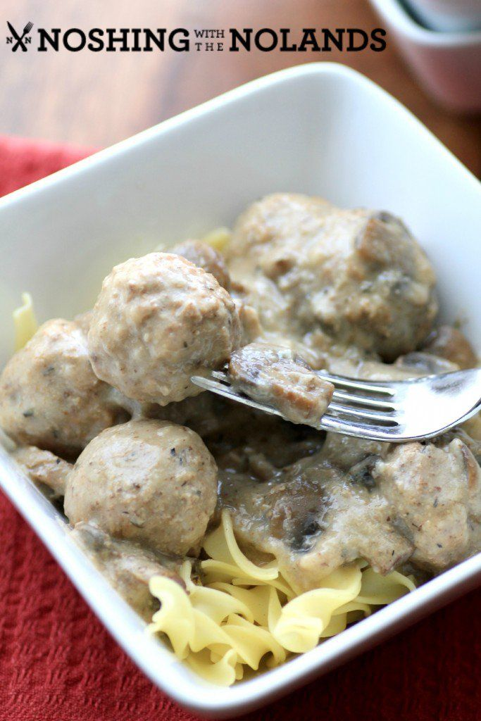 Slow Cooker Swedish Meatballs by Noshing With The Nolands