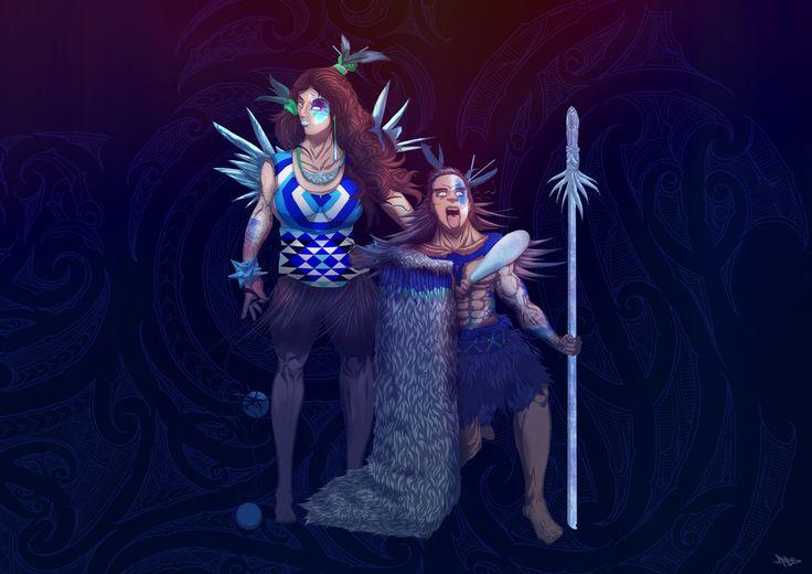 Maui Warriors - Winter Kapa Haka Champions by Maui-Studios on DeviantArt