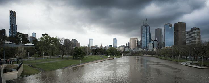Flooded Yarra...