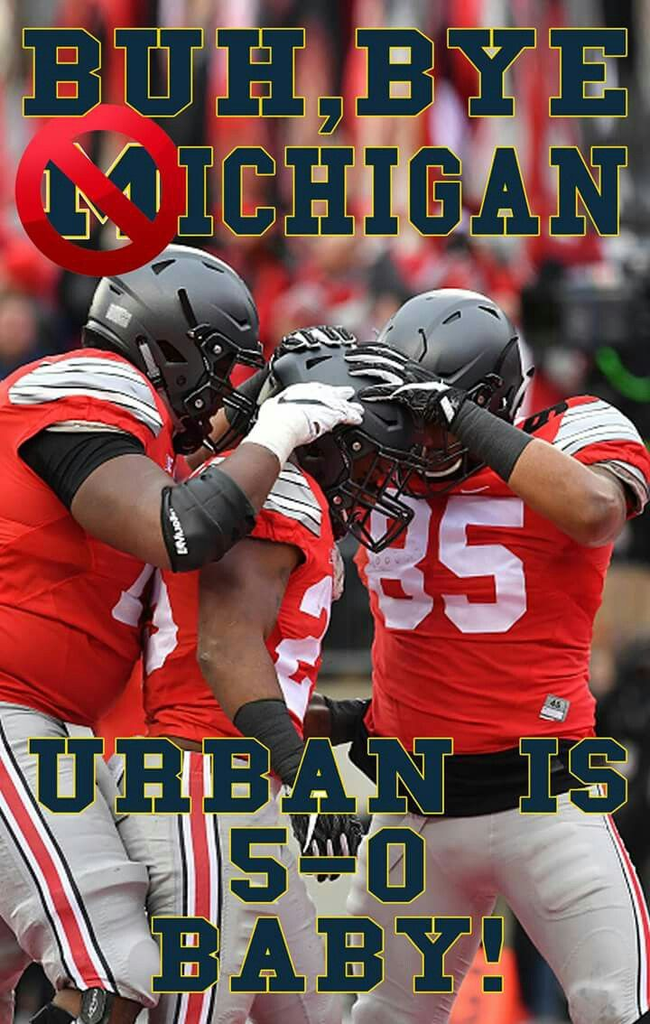 Urban 5-0 Against ichigan 30-27 in 2OT ⭐⭐ Way to Go Buckeyes! !