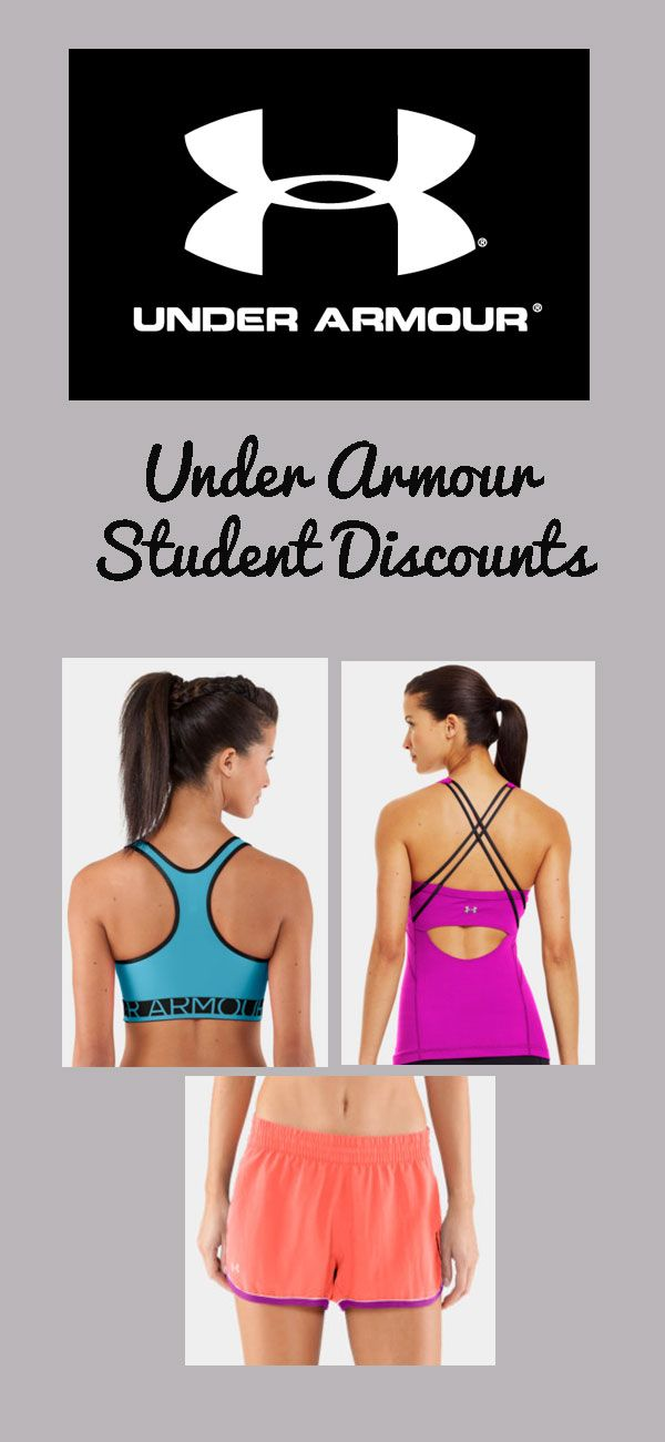 Get Under Armour student discounts !!