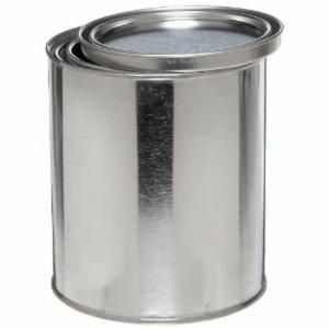 BEHR 1 Qt. Metal Paint Bucket and Lid-96604 at The Home Depot - use for paint storage in the basement