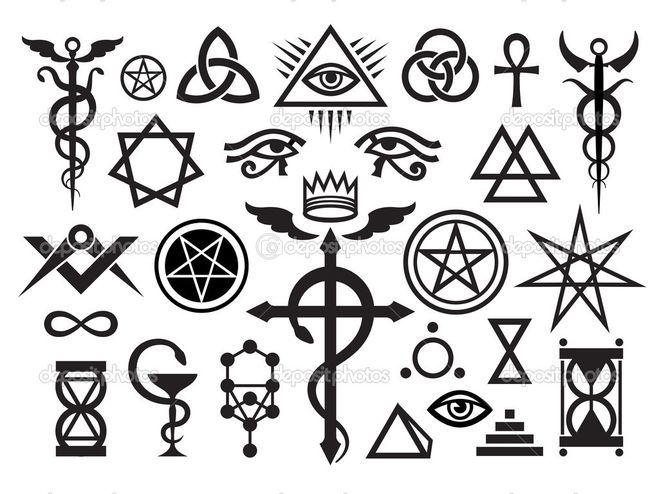 Pin by n_ on Рисуночки | Esoteric symbols, Occult symbols, Occult