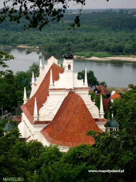 Kościół farny - Kazimierz Dolny