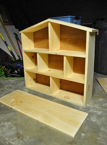 A doll house for a playroom; the creative opportunities for custom designed…