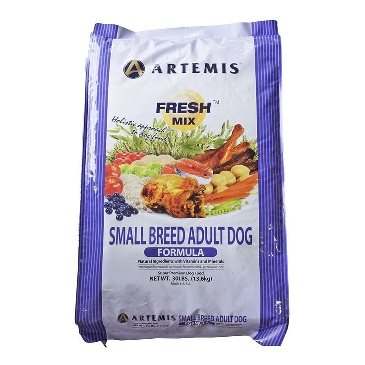 ARTEMIS 133043 Fresh Mix Small Breed Adult Food, 30-Pound >>> Check this awesome image  : Dog food types