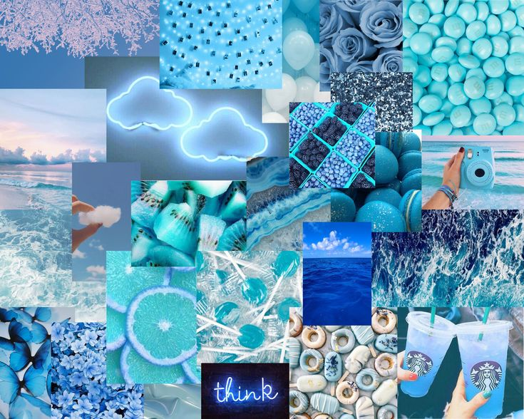 Download 10000+ royalty free light blue flower. Blue athestic in 2020 | Baby blue aesthetic, Laptop