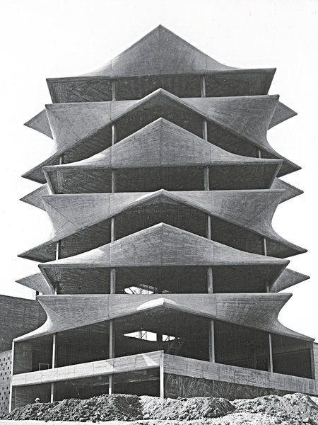 La Pagoda, de Miguel Fisac