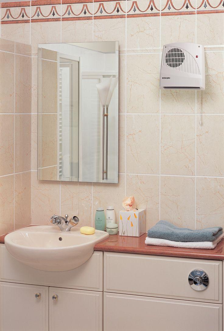 Dimplex Bathroom Fan Heater With Pullcord