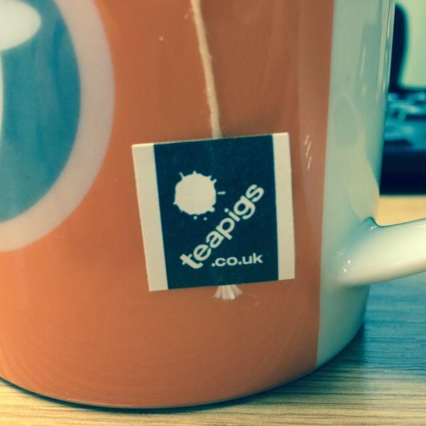 Just enjoying a #rooibos tea as my second #cuppa of the day... @teapigs you make my life better