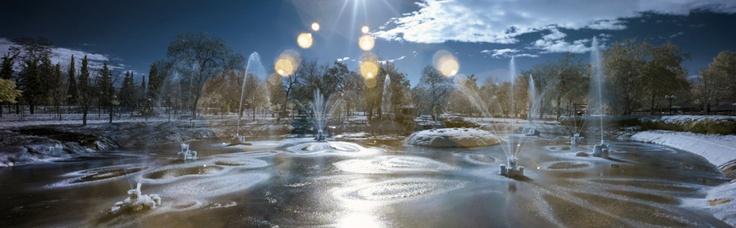 Λάρισα, στο Πάρκο του Αλκαζάρ Photo by Konstantinos Besios (http://www.flickr.com/photos/vilsonius/)