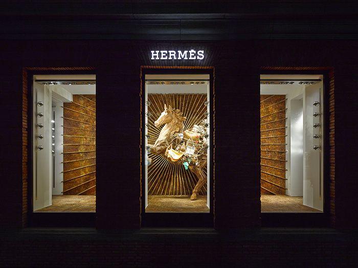 La Maison Hermès à Shanghai