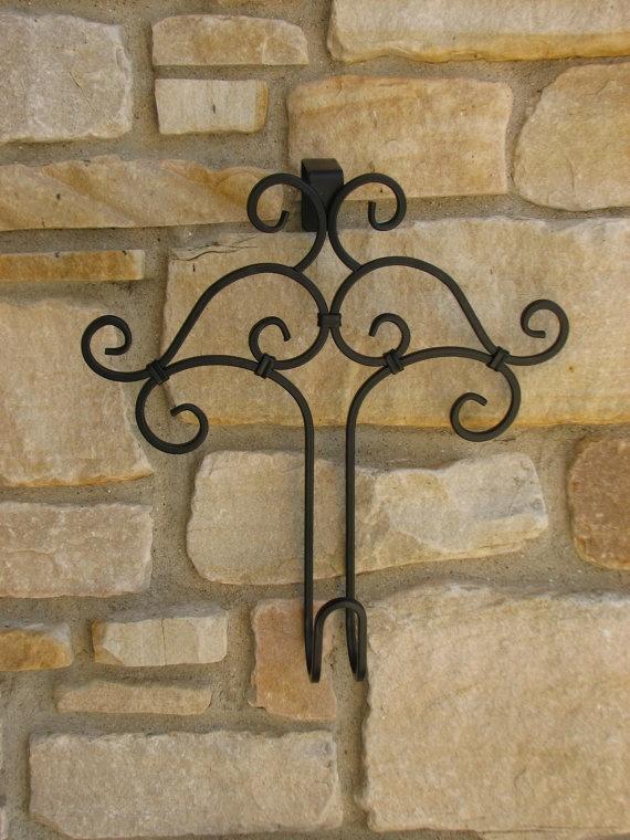 decorative hooks wreath hanger accessories for wreaths door hook - Decorative Picture Hangers
