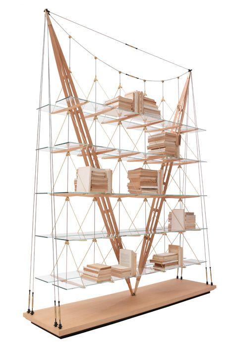 Franco Albini - Veliero :: beautiful suspension architecture