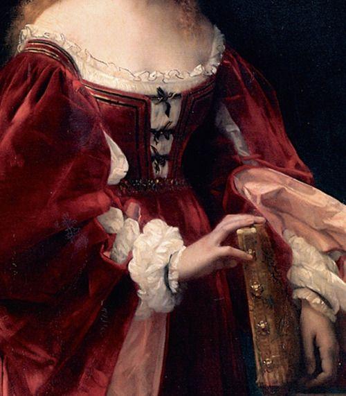 """""""Patricienne de Venise"""" (1881) (detail) by Alexandre Cabanel (1823-1889)."""