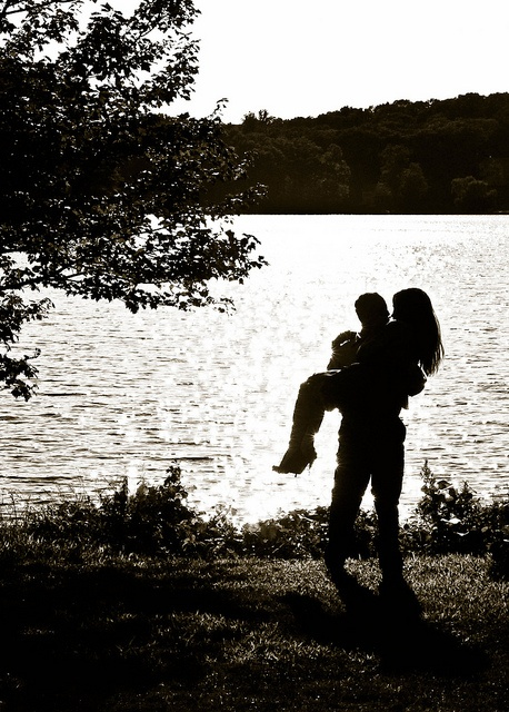 another couple's engagement session at white meadow lake