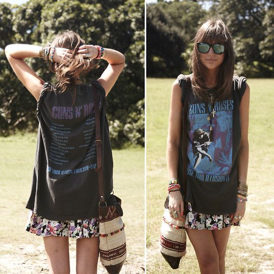 .: Concerts, Floral Skirts, Style, Graphics Tees, Festivals, Men Shirts, T Shirts, Bands Tees, Guns N Rose