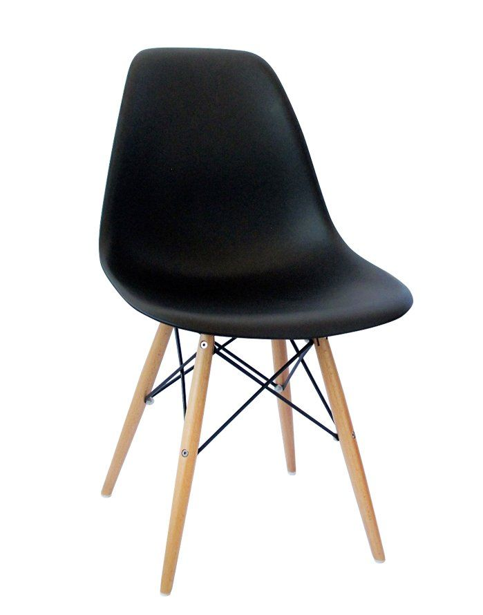Replica Eames DSW Chair – Black