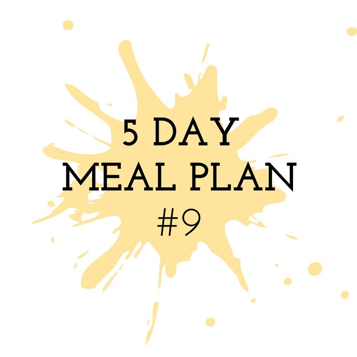 5 Day Meal Plan #9 - Cooking in the Chaos. Thermomix Recipes