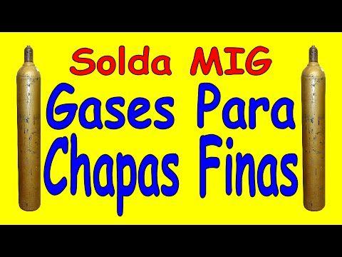 Solda MIG - Gases para soldar chapas finas - YouTube